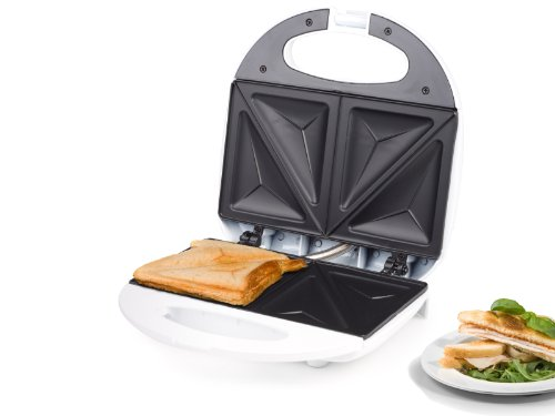 Tri-Star SA-3051 Sandwich Maker with Non-Stick Coating, 750 W, White