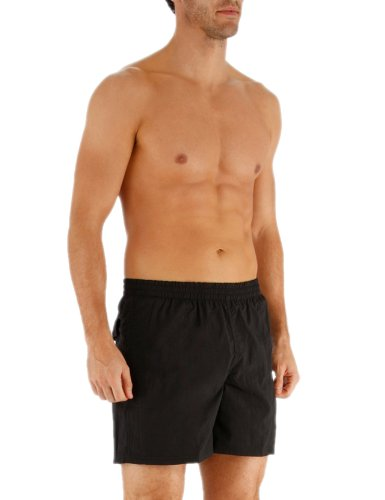 Speedo Scope Short de bain Homme Noir/Blanc S