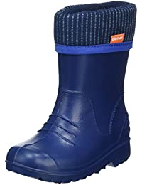 Ultralight Boys Girls Kids Warm Fleece Lined Rain Boots Wellington Boots Wellies Dino