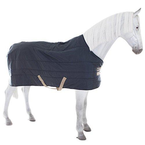 Horseware Mio Stable Rug Heavy 300g- Navy/Tan, Groesse:100