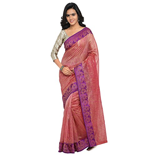 Triveni Art Silk Saree (TSSKCMZ13326D_Orange)