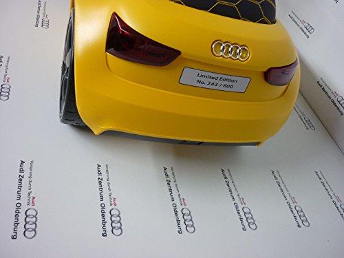 Original Audi Junior quattro Audi Bobby Car vegasgelb mit LED Beleuchtung 3201700400 - 4