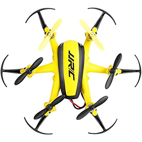 TONOR 2.4 GHZ 6-AXIS Mini RC Hexacopter Gyro Vehículo Aéreo No Tripulado con 360 sin cabeza giratoria Altitud Modo Hold Amarillo