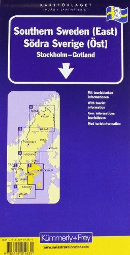 Kümmerly & Frey Karten, Süd-Schweden (Ost) (Kümmerly+Frey Reisekarten): Alle Infos bei Amazon