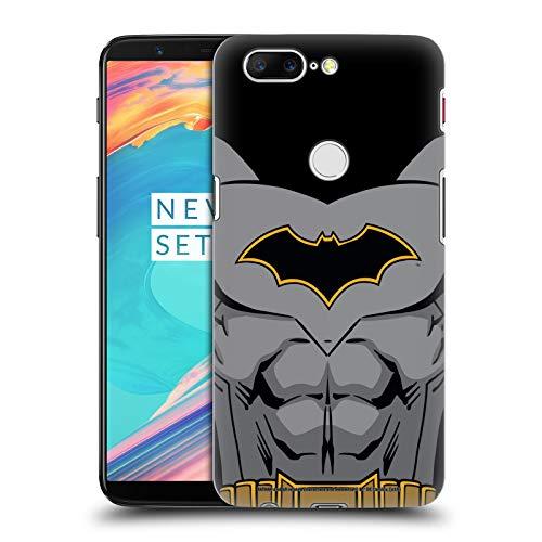 Head Case Designs Offizielle Batman DC Comics Wiedergeburt Kostuem Logos Harte Rueckseiten Huelle kompatibel mit OnePlus 5T