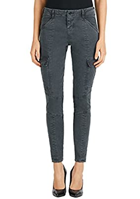 J Brand - Houlihan Mid Rise Cargo Jeans - Distressed Chrome, 29