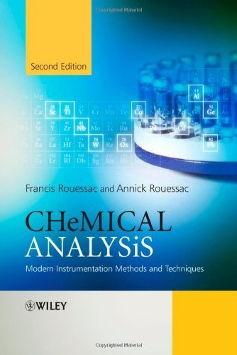 Chemical Analysis: Modern Instrumentation Methods and Techniques by Rouessac, Francis, Rouessac, Annick (2007) Paperback