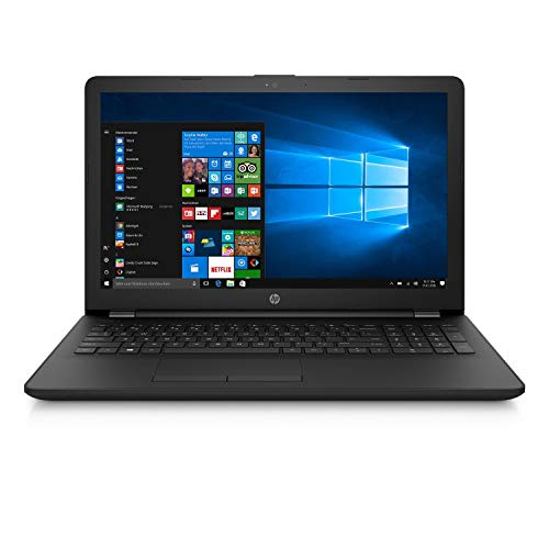 HP 15,6 Zoll Notebook AMD 4 Compute Core, 4GB RAM, 1000GB HDD, AMD Radeon, HDMI, Webcam, Bluetooth, USB 3.0, WLAN, Windows 10, Office 2018, Black*
