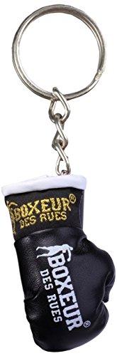BOXEUR DES RUES Unisex- Erwachsene BX-GK01A Schlüsselanhänger Boxhandschuhe, Schwarz, U