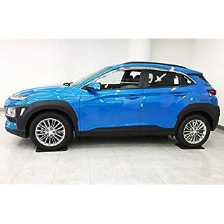 Autoclover Windabweiser-Set für Hyundai Kona, Chrom, 8-teilig