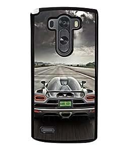 Fuson Designer Back Case Cover for LG G3 :: LG G3 Dual LTE :: LG G3 D855 D850 D851 D852 (Hot Wheels Racing Car Models)