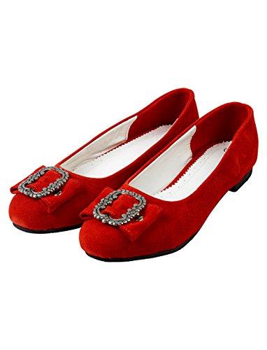 Trachtenschuhe Damen rot