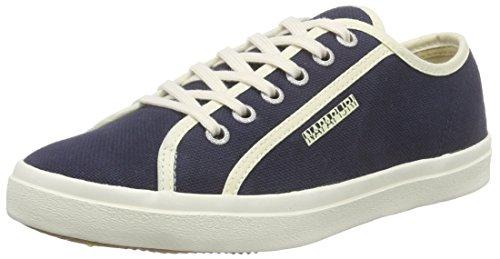 Napapijri Mia, Baskets Basses femme Bleu - Blau (blue marine N65)