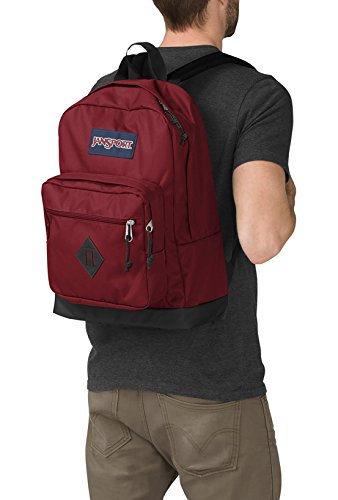 """Best jansport backpack in India 2020 JanSport City Scout 31 liters Polyester Red 15.6"""" Laptop Backpack Image 4"""