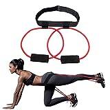 CricTeQleap Fitness Accessories, Booty Fascia Inferiore del Corpo Cintura Power Butt Esercizio Donna Glute Muscoli di