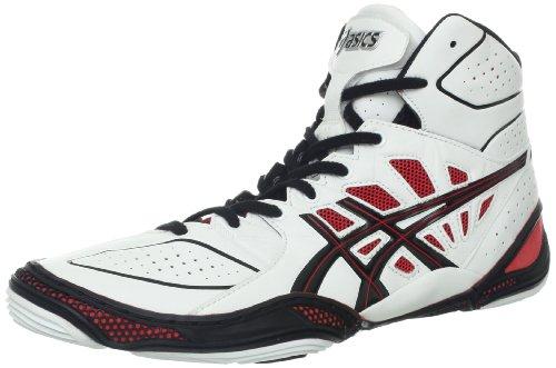 Asics Dan Gable Ultimate 3 Hommes Cuir Baskets Blanc