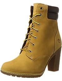 be2794092aa1 Amazon.fr   Jaune - Bottes et bottines   Chaussures femme ...