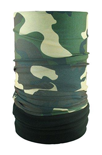 HeadLOOP Polar EXTRA LANG Camouflage Fleece + Schlauchtuch Multifunktionstuch Schal Halstuch Kopftuch Microfaser