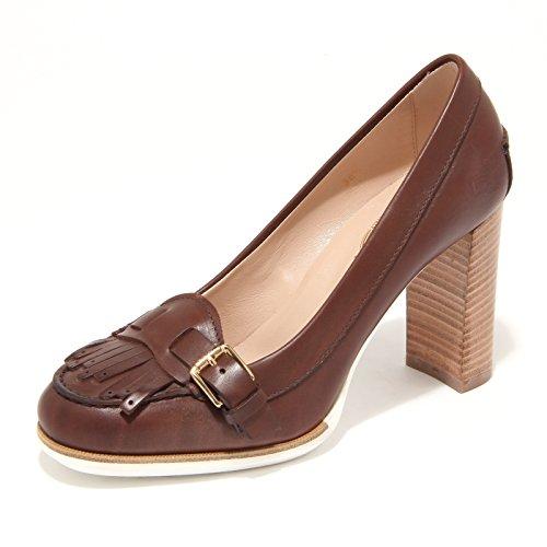 7895L decollete donna TOD'S scarpe shoes women Marrone