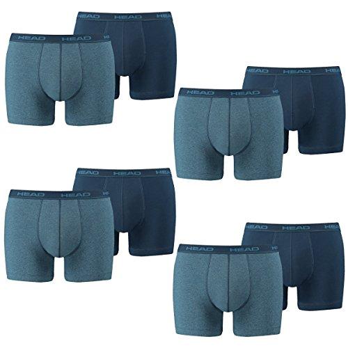HEAD Herren Boxershorts 841001001 8er Pack, Wäschegröße:XL;Artikel:Blue Heaven -
