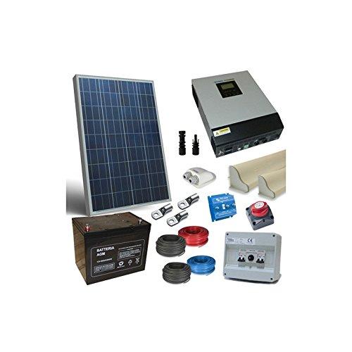 Con este práctico kit podrás instalar en tu furgone attrezzato un simple sistema capaz de satisfacer tus necesidades energéticas, y todo el aprovechando a lleno de la energía solar.Ne seguramente gioverà tu cartera, con un notable ahorro económico da...