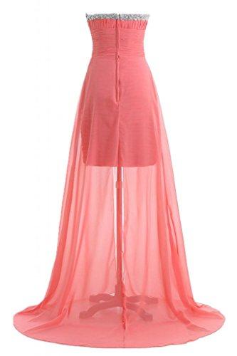 Sunvary elegante, Chic Sweetheart vestito lungo Pageant Gowns abiti da damigella d'onore abito Maxi Watermelon