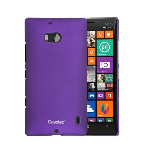 Casotec Ultra Slim Hard Shell Back Case Cover for Nokia Lumia 930 - Purple  available at amazon for Rs.125