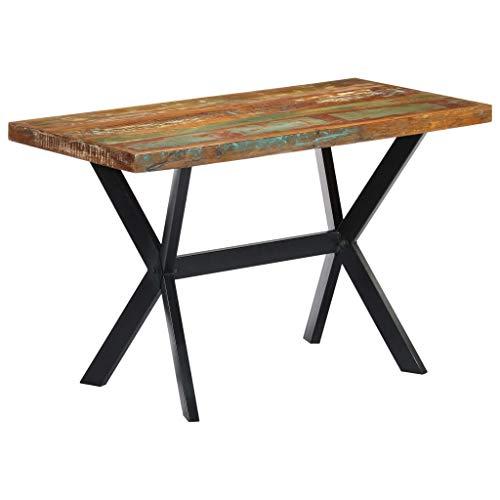 Introducción: Esta mesa de comedor emana un estilo industrial y será un aporte distintivo para su cocina o comedor. La mesa de comedor está hecha de madera maciza reciclada, obtenida de traviesas, suelas o vigas de apoyo de antiguos edificios que...