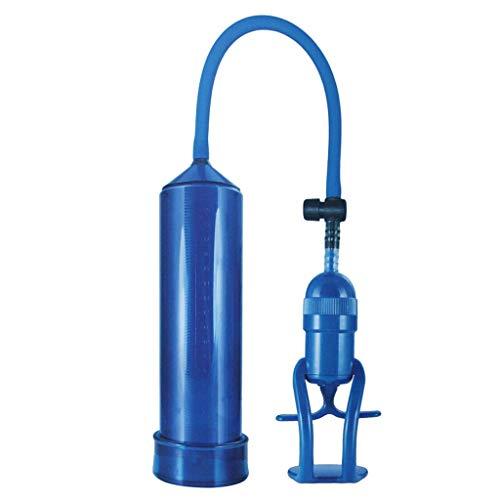 Blau Automatische Vakuum (WYFC Männliche Māssager automatische Vakuum Aircrāft Cup Insērt Ejaculātion Gāy Orgāsm Training Pēnis Paar Spielzeug (Farbe: Blau),Blue)