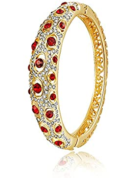 City Ouna® Fashion Schmuck stieg Gold vergoldet Damen Mädchen rot Swarovski Elemente Kristall Armband Armreif...