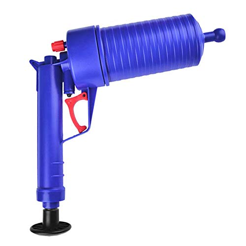 GLOBEAGLE Power WC Plunger Set Ablass Clog Abfluss Schlange Badewanne Abflussreiniger Öffner Air Drain Blaster Pistole Faltenbalg Plunger für -