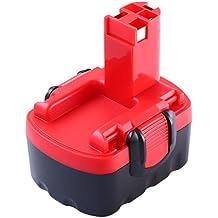 Reemplazo Batería para Bosch, Reoben 14,4V 3000mAh NIMH Batería de Repuesto para Bosch BAT038 BAT040 BAT 041 BAT140 BAT159 2607335685 2607335533 2607335534 2607335711