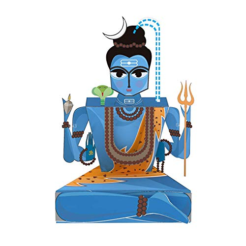 Toiing CrafToi- 3D DIY Paper Craft Toy (Shiva) for Kids Age 5-10 Years