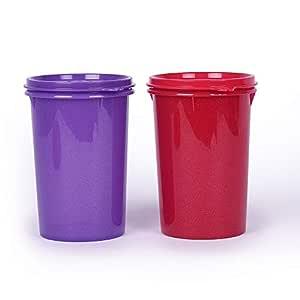 Tupperware Large Liquid Tight Containers 1L 2pc