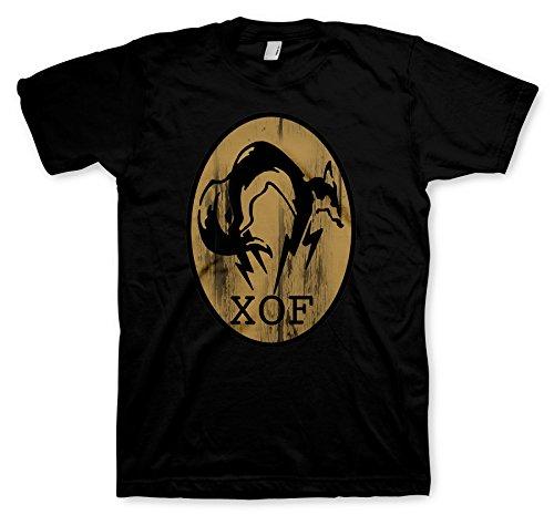 Preisvergleich Produktbild Metal Gear Solid 5 T-Shirt - FOX black Size XXL