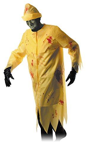 Bretonne Kostüm - Party Pro 86591Kostüm Zombie Angler, 38