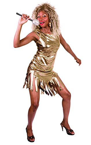 Boland 83842 Karnevalskostüm, Gold, - Tina Turner Fancy Dress Kostüm