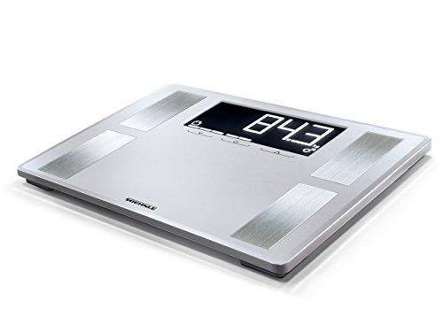Soehnle Shape Sense Profi 200 Körperfettwaage, mit Premium-Körperanalyse, Personenwaage mit Athletenmodus, Waage für exakte Messung und BMI-Berechnung