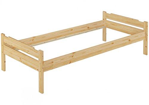 60.31-10 oR Einzel-Bett Kiefer 100x200 cm (Bettgestell ohne Zubehör)