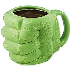 Taza puño Hulk, 3D. Marvel