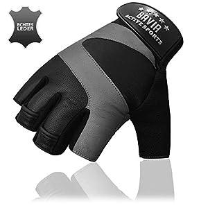 Bavia Echtleder Trainingshandschuhe – Premium Sporthandschuhe für Damen & Herren