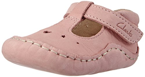 Clarks Baby Toy, Stivaletti bambine, Rosa (Pink (Baby Pink Lea)), 0-6 months