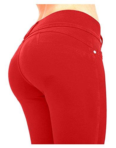 Bestfort Jeans Damen Denim-Jeans-neue Art Stretchy Hosen Push Up Hüfte Elegant Pants Casual Skinny Jeans