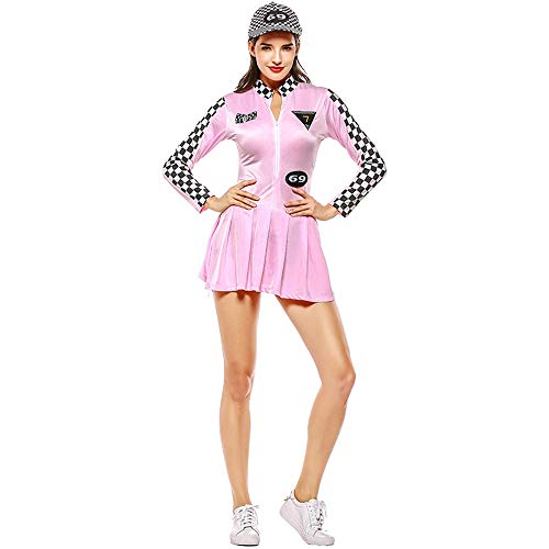 seballuniform, Spielanzug Cheerleader-Rennanzug Halloween/Carnival Festival,Pink ()