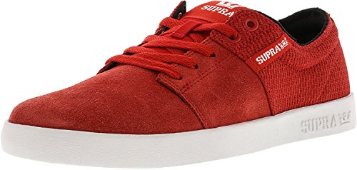 Supra  STACKS II, Peu mixte adulte Rouge