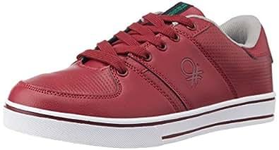UCB Men's Red 904 Sneakers -9 UK/India (43 EU)
