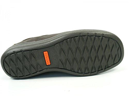 Jomos Schuhe Herren Halbschuhe Slipper Weite K Urbanic 420413-370 Braun
