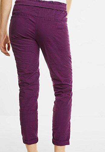 Street One Damen Crashed Joggpants Leona sunny violet