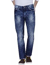 Raa Jeans Slim Fit Men's Jeans navy blue towal wash