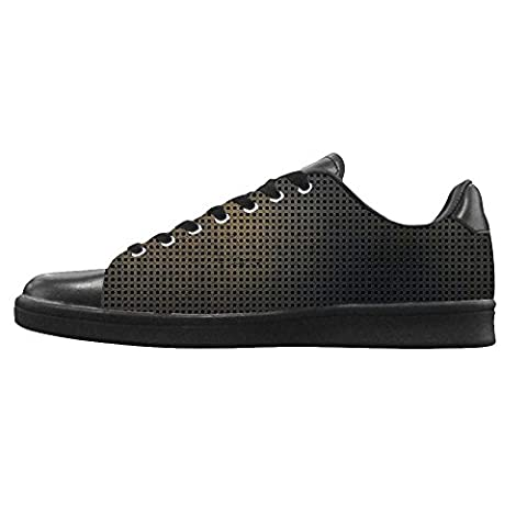 Dalliy Metal Men's Canvas Shoes Lace-up High-top Footwear Sneakers Chaussures